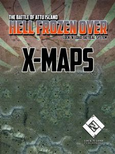 Lock 'N Load Tactical: Heroes of the Pacific - Hell Frozen Over X-Maps